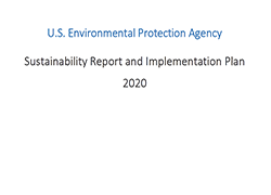 EPA Sustainability Report and Implementation Plan for 2020