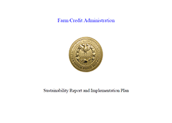 Farm Credit Administration Plan for 2020