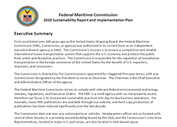 Federal Maritime Commission Plan for 2020