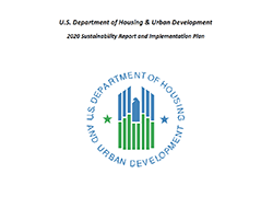 HUD Sustainability Report and Implementation Plan for 2020