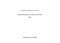 U.S. Nuclear Regulatory Commission Plan for 2020