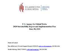 U.S. Agency for Global Media Plan for 2020