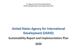 U.S. Agency for International Development for 2020